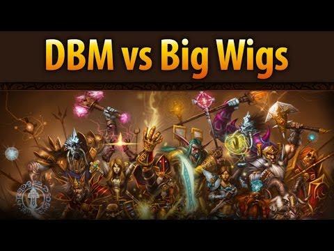 Рейдовые аддоны: DBM vs Big Wigs