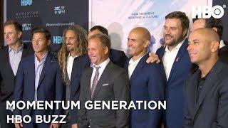 HBO Buzz w/ Kelly Slater, Shane Dorian & More | Momentum Generation