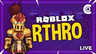 🔴 TESTING R-THRO IN ROBLOX GAMES! RTHRO IS HERE!!! | #RoadTo9K | ROBLOX LIVESTREAM 🔴