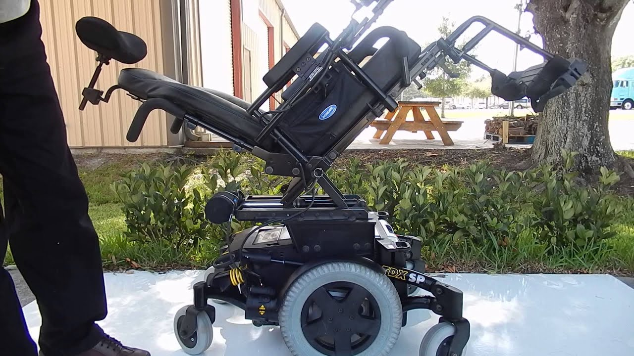 Invacare TDX SP with Electric Tilt High Speed Power Chair