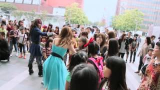 博多駅で230人がフラッシュモブ! 福岡市アジアンパーティ2013 Asian Party Flash mob thumbnail