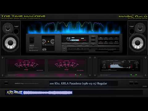 [KRLA] 1100 Khz, KRLA Pasadena (1981-03-15) Regular