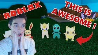 ROBLOX meets POKEMON?!
