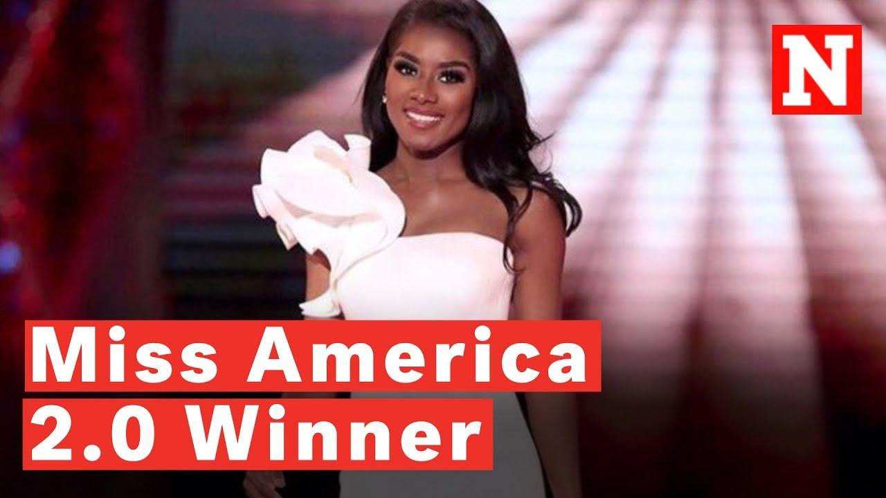 Miss New York Nia Franklin Wins Miss America 2.0