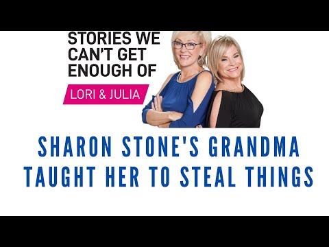 Sharon Stone learned to steal from her grandmother - Story We Can't Get Enough Of