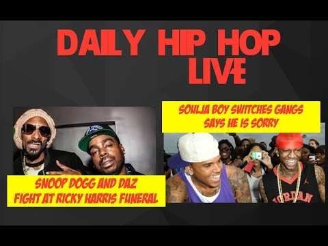 Snoop Dogg & Daz GET INTO A fight AT RICKY HARRIS Funeral | Soulja Switch gangs Says Sorry ||🔴 LIVE