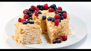 Торт «Стёпка-растрёпка» | Теле-теле-тесто
