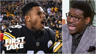 Michael Irvin 'begged' Jerry Jones to draft JuJu Smith-Schuster | First Take