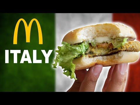 Thumbnail: WE TRY McDonalds ITALY - TOP 10