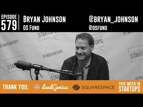 Founder Bryan Johnson sold Braintree to build OS Fund & help humanity w/science
