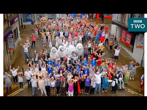 Skipton dances! - Our Dancing Town: Episode 2 - BBC Two