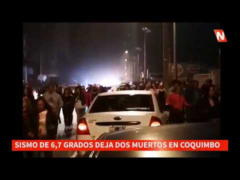 Sismo de 67 grados Richter en La Serena y Coquimbo Chile Impactantes Imágenes