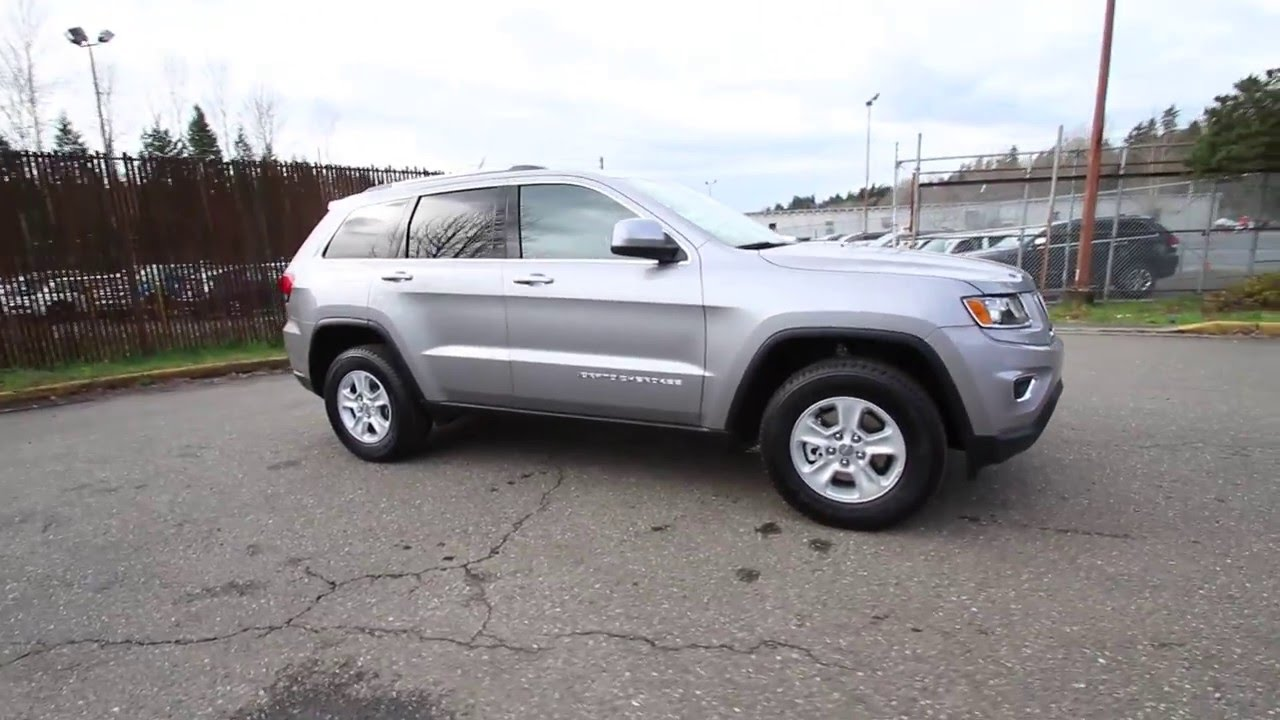 2016 Jeep Grand Cherokee Laredo Silver Gc303972 Redmond Seattle