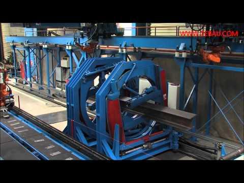 Zeman Structural Steel Robot Welding H Beam Machine S