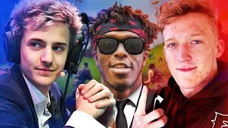 NINJA VS TFUE - Who is better at Fortnite?