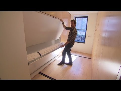 The $1 million foldable apartment