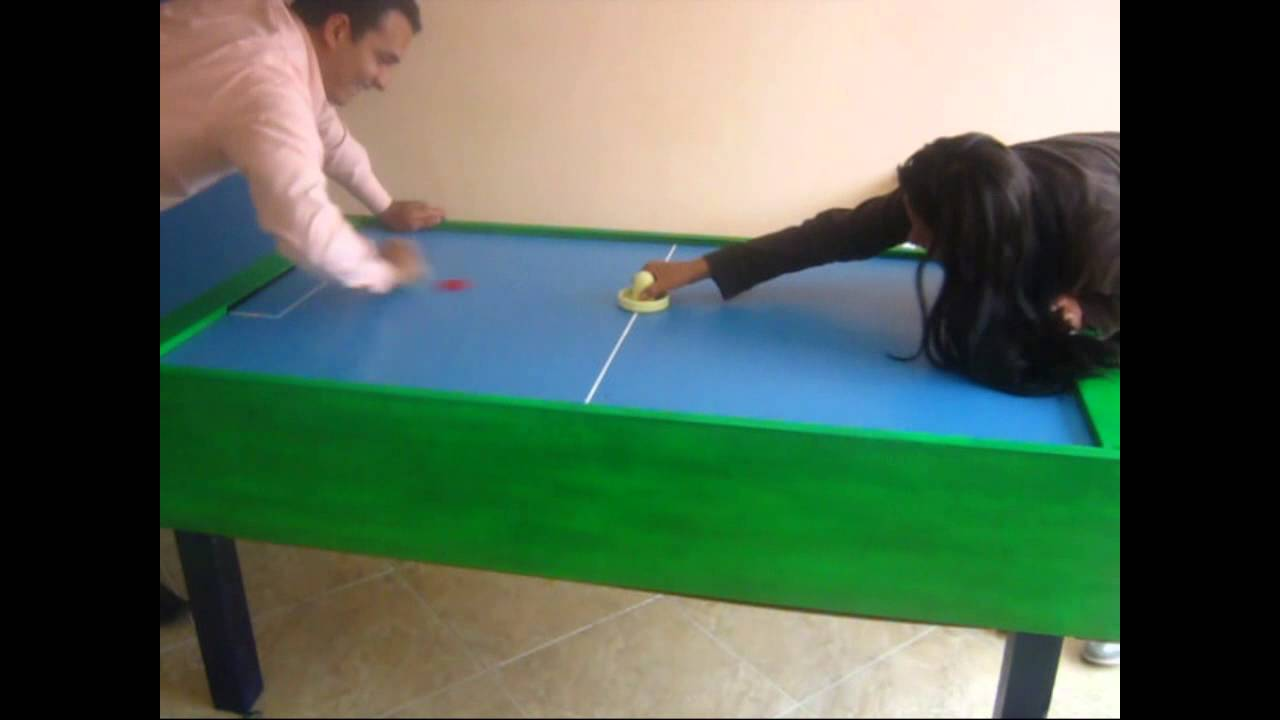 Haciendo una mesa de Air Hockey casera  YouTube