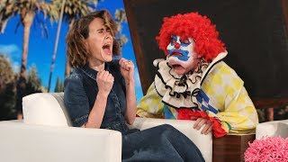 Ellen Ups Her Scare Game for 'AHS: Cult' Star Sarah Paulson