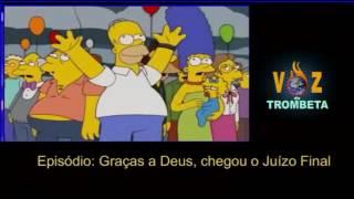ARREBATAMENTO 2017, Os Simpsons previram