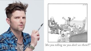 adam scott enters the new yorker caption contest the new yorker