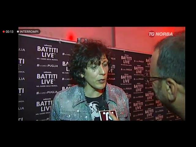 Intervista Ermal Meta @Battitilive2018 #tgnorba24- Ostuni