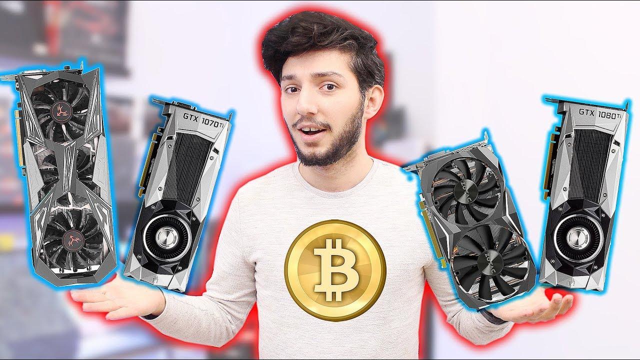 1 Bilgisayara 4 EKRAN KARTI Takıp Yattığımız Yerden Para Kazanmak ? Bitcoin GOLD