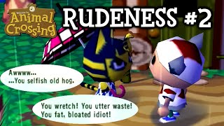Animal Crossing Rudeness #2