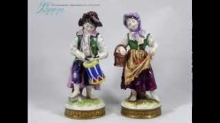 Антикварные статуэтки из Германии Volkstedt