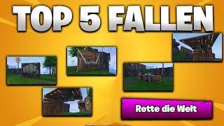 TOP 😎 5 FALLEN 😵 DIE DU HABEN MUSST!   FORTNITE: RETTE DIE WELT