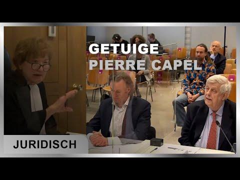 Professor Pierre Capel legt een verklaring af in hoger beroep tegen de avond klok