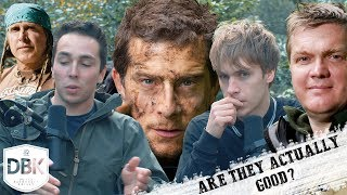 Are The Survival Legends Actually Good!? Ray Mears, Bear Grylls Etc.