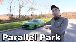 How to Parallel Park... PERFECTLY Every Time!