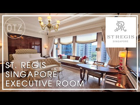 St. Regis Singapore   Executive Room Review