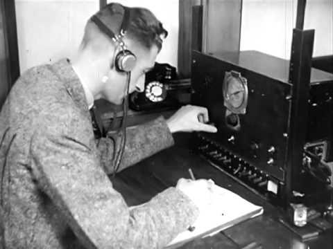 1939 Film: New Zealand Shortwave Communications; Morse code (CW)