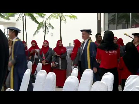 Ceremony of Inauguration: University of Reading Malaysia Campus