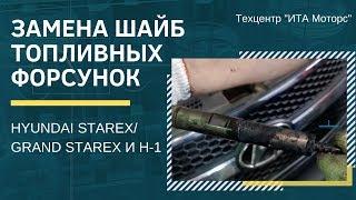 Заміна шайб паливних форсунок HYUNDAI STAREX/GRAND STAREX І H-1