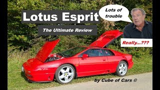 Lotus Esprit - Ultimate Review: Is Jeremy Clarkson on Top Gear right?
