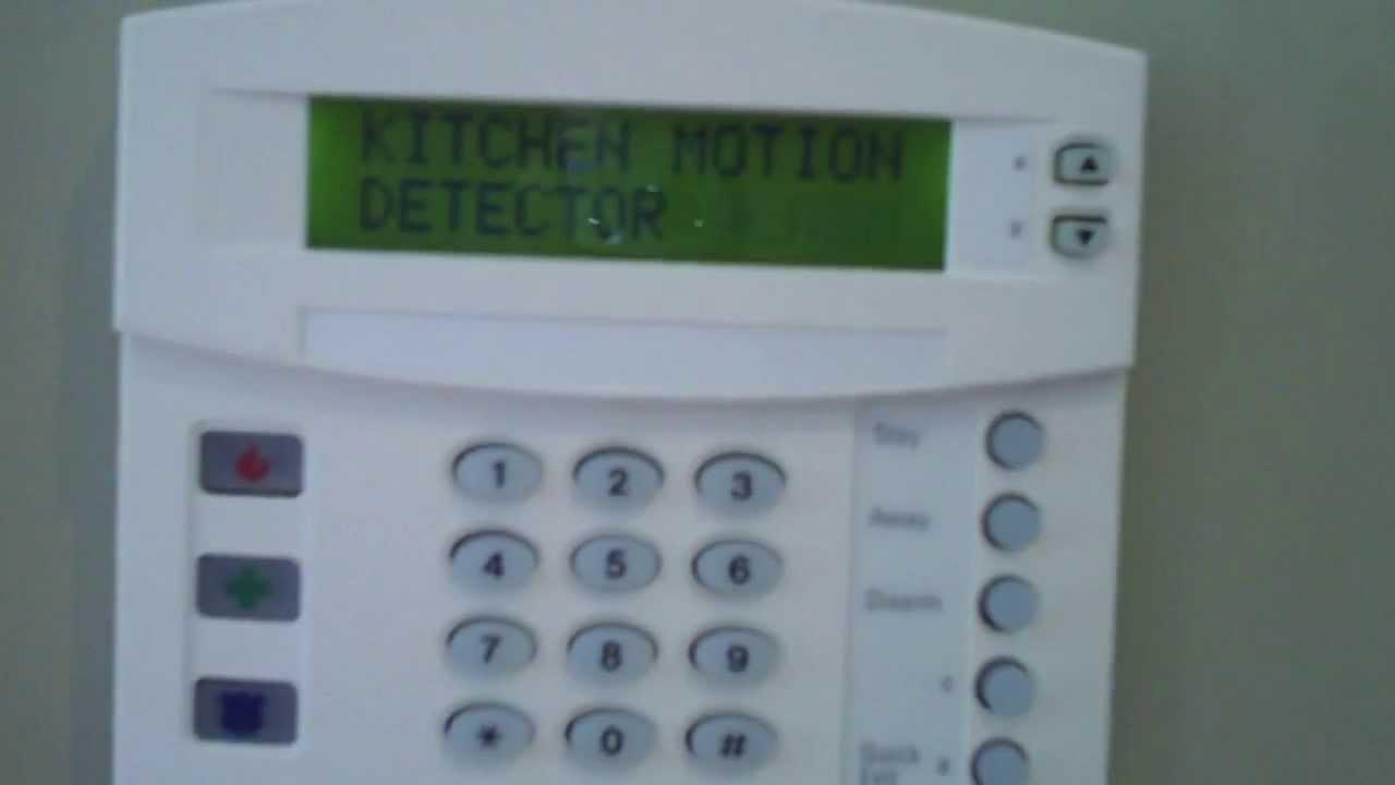 Wireless Security System Keypad
