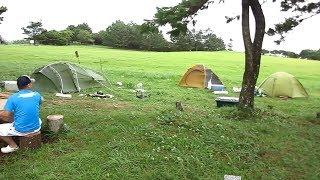 ガチで直撃の台風の中でキャンプしてみた