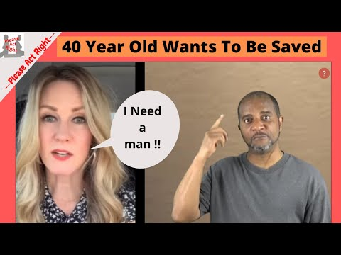 40 Year Old Woman Says Come Rescue Me