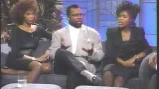 Whitney Houston, Bebe, and Cece - Hold Up The Lights and Interview on Arsenio Hall Show (1989)