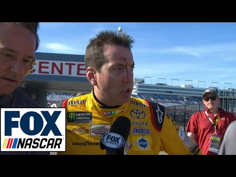 Kyle Busch Not Happy With Logano After Race | 2017 LAS VEGAS | FOX NASCAR