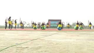 a m world school sports day waka waka