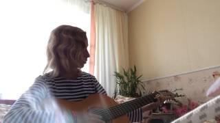 Видеоурок (разбор) песни у костра под гитару. Песня перевал