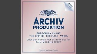 Traditional: Gregorianischer Choral: Erste Weihnachtsmesse - Pax Domini