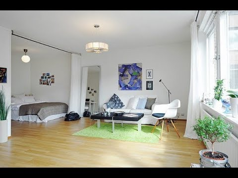 Inspiring All In One Room Apartment in Stockholm | Vasastan, Stockholm | HD
