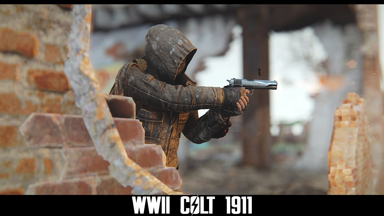 Fallout 4 Mods: WWII Colt 1911