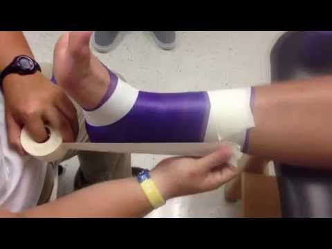 Sports Medicine Ankle Taping