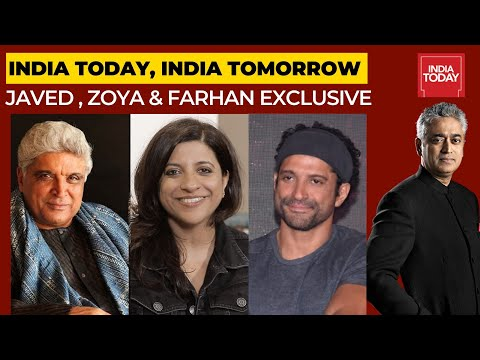Rajdeep In Conversation With Javed Akhtar, Zoya Akhtar & Farhan Akhtar | India Today, India Tomorrow