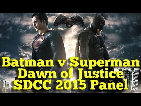 Batman v. Superman Panel w/ Henry Cavill, Ben Affleck, Gal Gadot [San Diego Comic-Con 2015]
